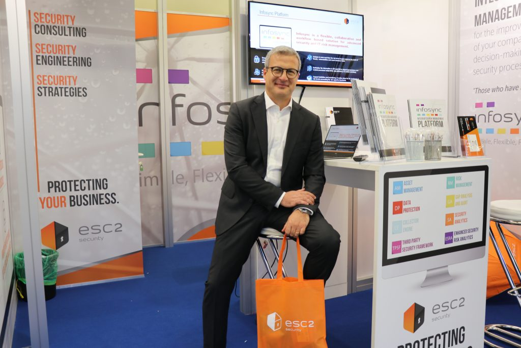 ESC2 at the it-sa: IT Security Expo in Nuremberg